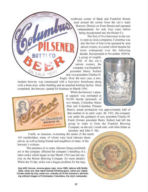Hoster Columbus Brewing Co